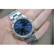 Rolex Air-King  Stainless Steel Blue 14010 Replica Watch