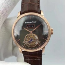 Audemars Piguet Jules Audemars Tourbillon Grande Date 26559 Rose Gold Black Dial