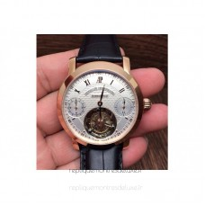 Audemars Piguet Jules Audemars Tourbillon Rose Gold White Dial