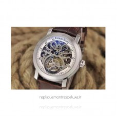 Audemars Piguet Jules Audemars Tourbillon Stainless Steel Skeleton White Dial