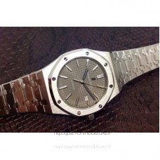 Réplique Montre Audemars Piguet Royal Oak 15400 Acier inoxydable Gray Dial