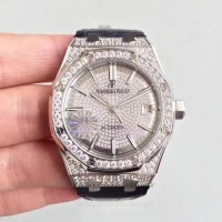 Réplique Montre Audemars Piguet Royal Oak 15450 Acier inoxydable Diamant Dial