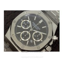 Réplique Montre Audemars Piguet Royal Oak 26320 Acier inoxydable Anthracite Dial