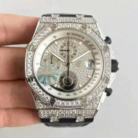 Réplique Montre Audemars Piguet Royal Oak Offshore 26067BC.ZZ.D002CR.01 Steel Diamant Dial
