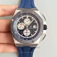 Réplique Montre Audemars Piguet Royal Oak Offshore 26401PO.OO.A018CR.01 Acier inoxydable Bleu Dial