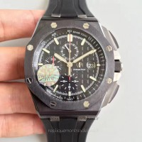 Réplique Montre Audemars Piguet Royal Oak Offshore 26402CE.OO.A002CA.01 Ceramic Noir Dial