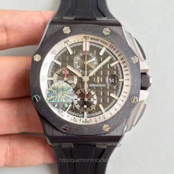 Réplique Montre Audemars Piguet Royal Oak Offshore 26405CE.OO.A002CA.01 Ceramic Gris Dial