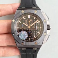 Réplique Montre Audemars Piguet Royal Oak Offshore 26405CE.OO.A002CA.02 Ceramic Noir Dial