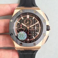 Réplique Montre Audemars Piguet Royal Oak Offshore 2640R0.00.A002CA.02 Or rose Noir Dial