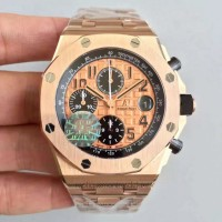 Réplique Montre Audemars Piguet Royal Oak Offshore 26470OR.OO.1000OR.01 Or rose Gold Dial