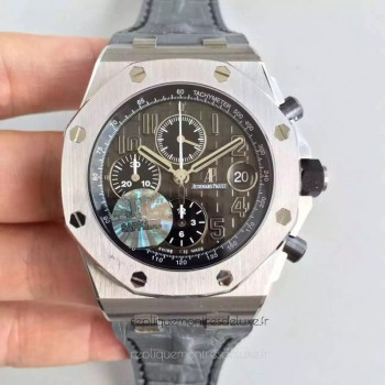 Réplique Montre Audemars Piguet Royal Oak Offshore 26470ST.OO.A104CR.01 Acier inoxydable Gris Dial