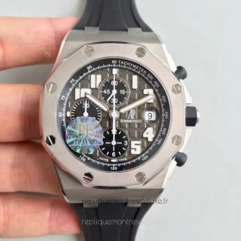 Réplique Montre Audemars Piguet Royal Oak Offshore 50th 26034TS.00.D001IN.01 Acier inoxydable Gris Dial