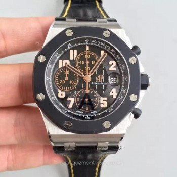 Réplique Montre Audemars Piguet Royal Oak Offshore 57Th 26298SK.OO.D101CR.01 Acier inoxydable Noir Dial