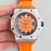 Réplique Montre Audemars Piguet Royal Oak Offshore Plongeur 15710ST.OO.A070CA.01 Acier inoxydable Orange Dial