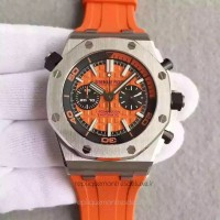 Réplique Montre Audemars Piguet Royal Oak Offshore Plongeur Chronographe 26703ST.OO.A070CA.01 Acier inoxydable Orange Dial