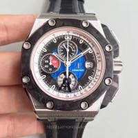 Réplique Montre Audemars Piguet Royal Oak Offshore Grand Prix 26290PO.OO.A001VE.01 Acier inoxydable Bleu Dial
