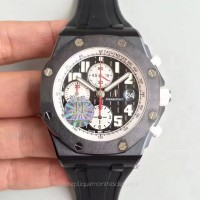 Réplique Montre Audemars Piguet Royal Oak Offshore Marcus Edition 26299SN/D010CA.01 Noir Ceramic Noir Dial