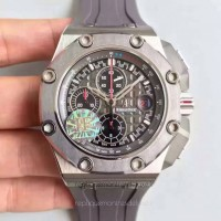 Réplique Montre Audemars Piguet Royal Oak Offshore Michael Schumacher 26568IM.OO.A004CA.01 Titanium Anthracite Dial