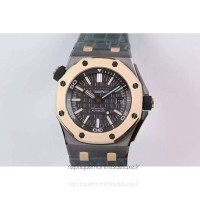 Réplique Montre Audemars Piguet Royal Oak Offshore QEII Cup 2014 15709TR.OO.A005CR.01 Titanium Gray Dial