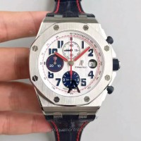Réplique Montre Audemars Piguet Royal Oak Offshore Tour Auto 2012 26208ST.00.D305CR.01 Acier inoxydable Noir Dial