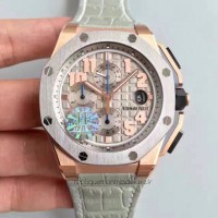 Réplique Montre Audemars Piguet Royal Oak Offshore LeBron James 26210OI.OO.A109CR.01 Or rose Gray Dial