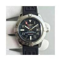 Réplique Breitling Avenger II GMT Cadran noir en acier inoxydable A3239011/BC34/152S/A20S.1