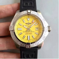 Replica Breitling Avenger II Seawolf A1733110/BC30/152S/A20SS.1 Stainless Steel Yellow Dial