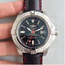 Replica Breitling Avenger II Seawolf A1733110/BC30/435X/A20BASA.1 Stainless Steel Black Dial