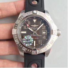 Replica Breitling Avenger II Seawolf A1733110/F563/152S Stainless Steel Anthracite Dial