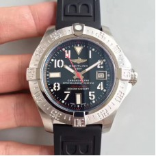 Replica Breitling Avenger II Seawolf A1733110/F563/153S/A20DSA.2 Stainless Steel Black Dial