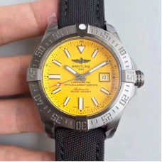 Replica Breitling Avenger II Seawolf A1733110/I519/106W/A20BASA.1 Stainless Steel Yellow Dial