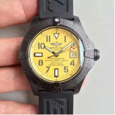 Replica Breitling Avenger II Seawolf A1733110/I519/152S/A20SS.1 Limited Edition PVD Yellow Dial