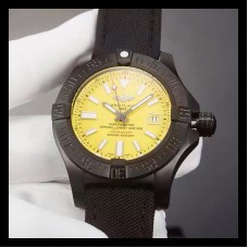Replica Breitling Avenger II Seawolf Limited Edition M17331E2/I530-101W PVD Yellow Dial