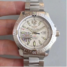 Replica Breitling Colt Automatic 44MM A1738811-G791 Stainless Steel White Dial
