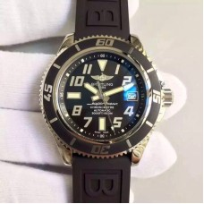 Replica Breitling Superocean 42 A1736402/BA32 Stainless Steel Black Dial