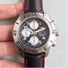 Replica Breitling Superocean Chronograph Steelfish A13341C3/BD19/228X/A20BASA.1 Stainless Steel Black Dial