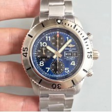 Replica Breitling Superocean Chronograph Steelfish A13341C3/C893 Stainless Steel Blue Dial