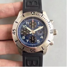 Replica Breitling Superocean Chronograph Steelfish A13341C3/C893/200S/A20DSA.2 Stainless Steel Blue Dial