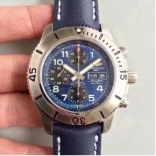 Replica Breitling Superocean Chronograph Steelfish A13341C3/C893/227X/A20BASA.1 Stainless Steel Blue Dial
