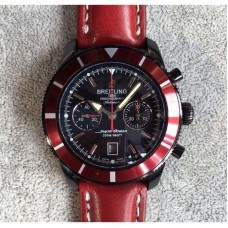 Replica Breitling Superocean Heritage Chronograph M23370D4/BB81 PVD Black Dial