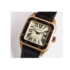 Replica Cartier Santos 100 XL Rose Gold