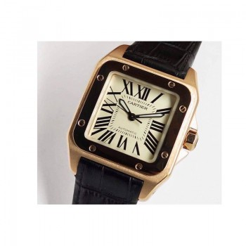 Cartier Santos 100 XL Or rose