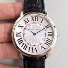 Replica Ronde Luis Cartier W6801004 42MM Stainless Steel Silver Dial