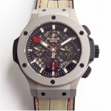 Replica Hublot Big Bang Aero Bang Steel 311.SX.1170.GR Stainless Steel Black Skeleton Dial