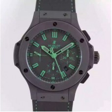 Replica Hublot Big Bang All Black Green 301.CI.1190.GR.ABG11 Ceramic Black Dial
