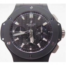 Réplique Hublot Big Bang Black Magic Evolution 301.CI.1770.RX cadran en fibre de carbone en céramique