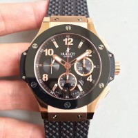 Réplique Hublot Big Bang Evolution 301.PB.131.RX cadran noir en or rose