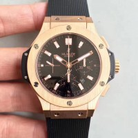 Réplique Hublot Big Bang Evolution 301.PX.1180.RX cadran noir en or rose