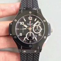 Réplique Hublot Big Bang Evolution Black Magic 301.CX.130.RX cadran noir en céramique