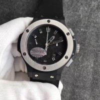 Réplique Hublot Big Bang Evolution Ceramic Ice Bang 301.CK.1140.RX Ceramic Black Dial